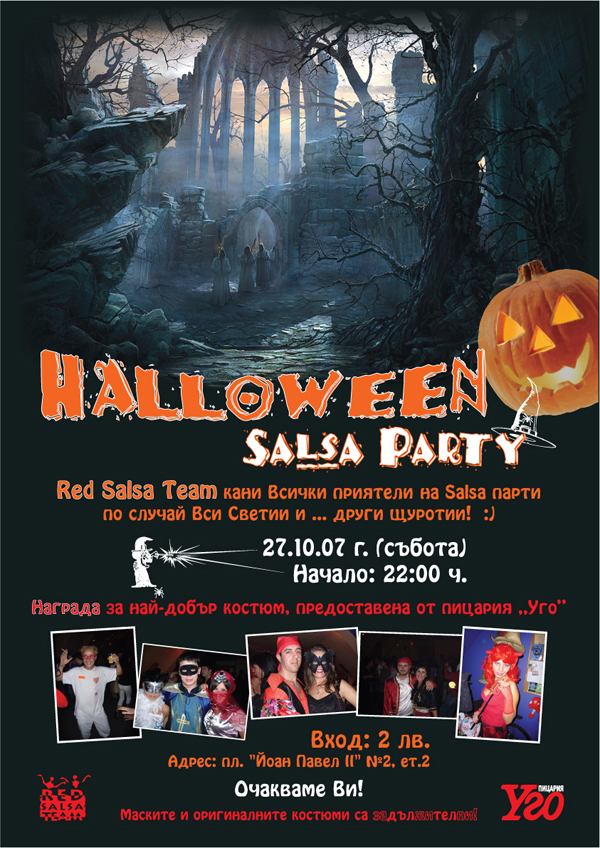 HALLOWEEN SALSA PARTY- RST
