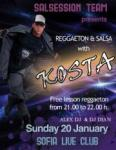 SALSESSION presents REGGAETON and SALSA with KOSTA / SOFIA LIVE CLUB