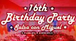 "01 юни: 16th SALSA BIRTHDAY! DANCE STUDIO ""SALSA CON MIGUEL"" СТАВА НА 16 ГОДИНИ!"